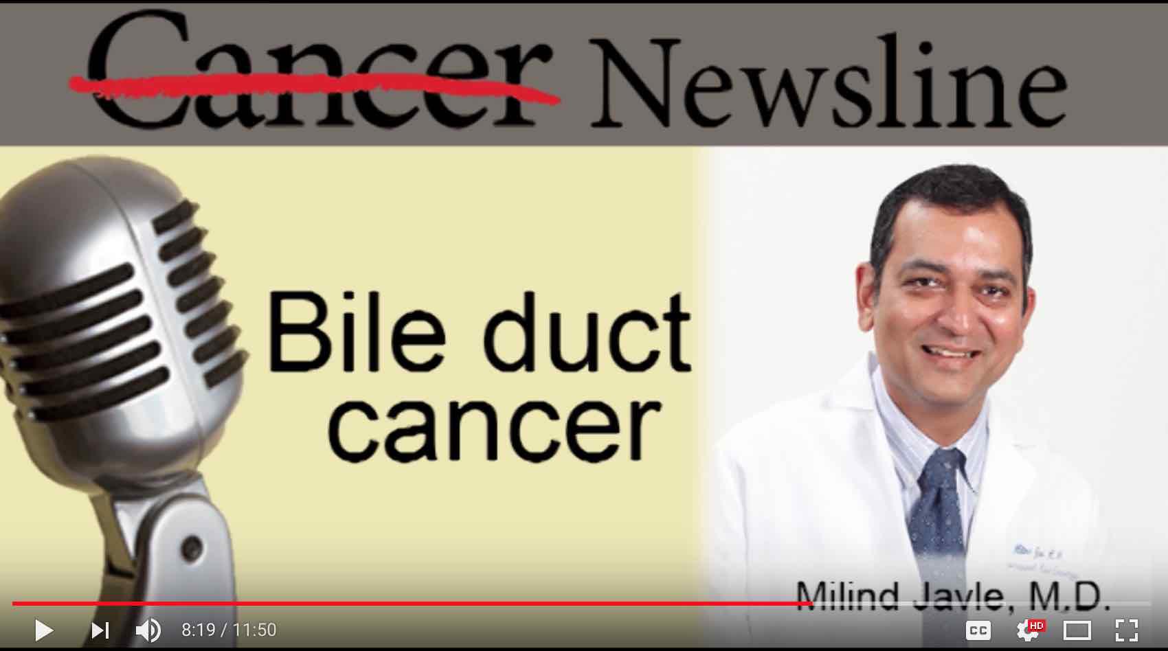 Medical Advances Improve Cholangiocarcinoma Outcomes