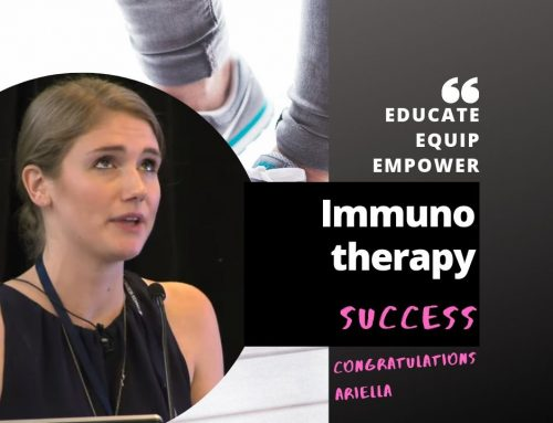 Ariella Chivil, Cancer Patient success – immunotherapy